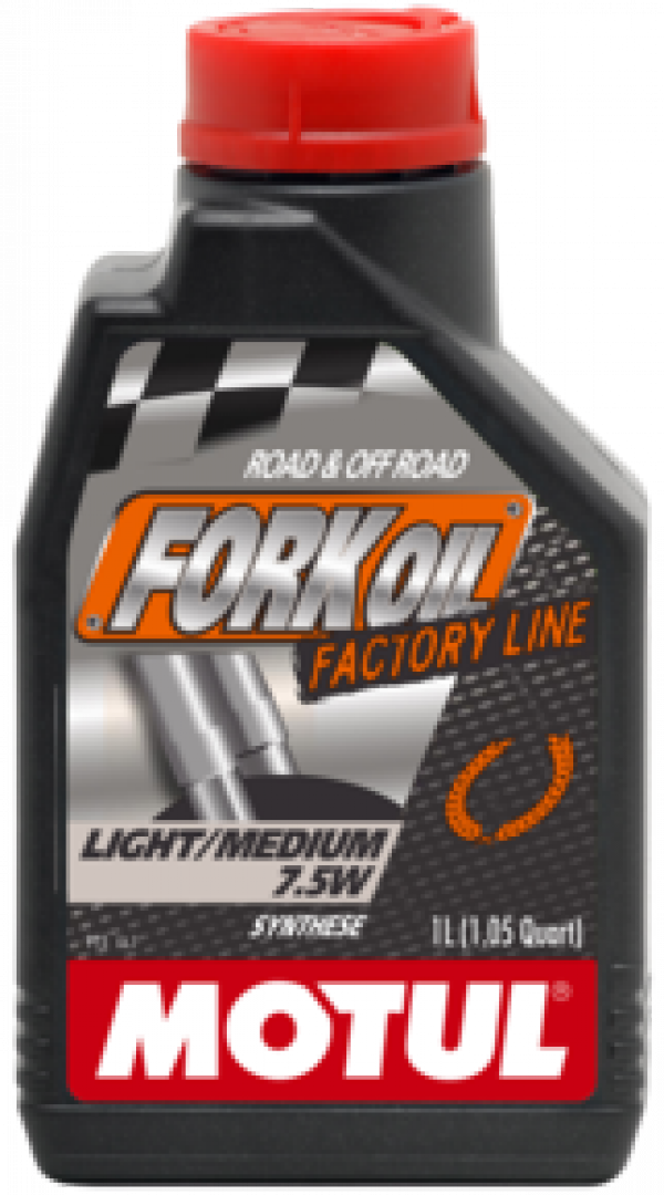 MOTUL Fork Oil light / medium Factory Line 7,5W 1L