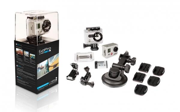 Action Cam GoPro HERO 2 Motorsport edition
