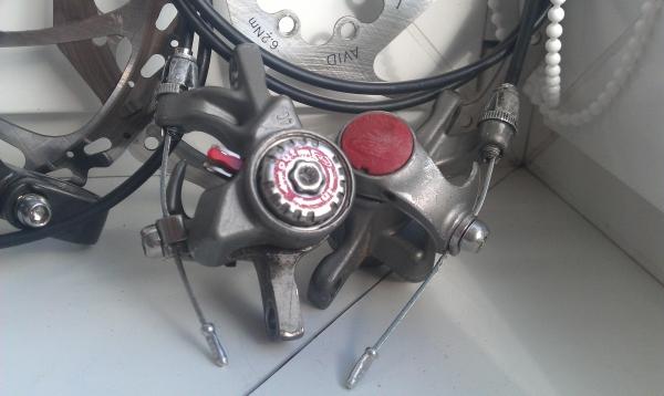 Тормоза Avid BB-5