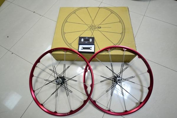 "Crank Brothers Cobalt Classic Wheelset 26"""