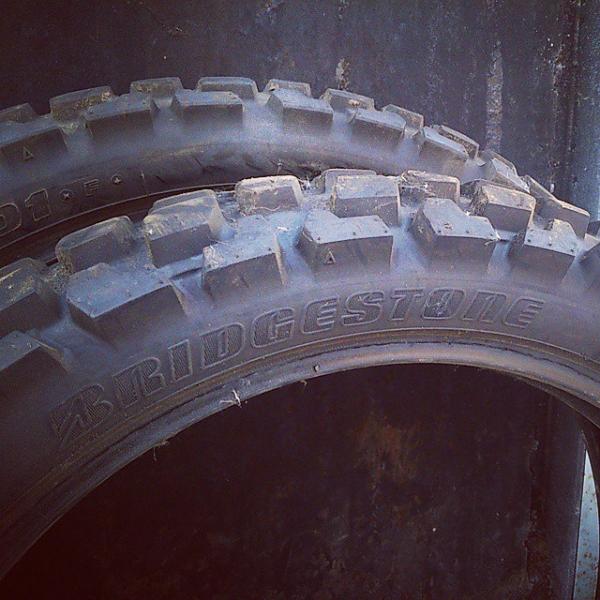 Комплект Enduro резины Bridgestone