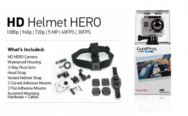 GoPro HD Helmet Hero Action Camera