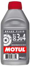 MOTUL DOT 3 & 4 Brake Fluid 0.5L