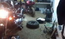 Tyre Repair at Suzuki Intruder 400 Classic _2